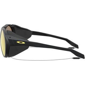 Oakley Clifden Lunettes de soleil Homme, matte black/prizm 24k polarized